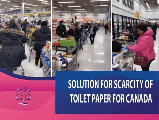 Solution for Scarcity of Toilet Paper For Canada